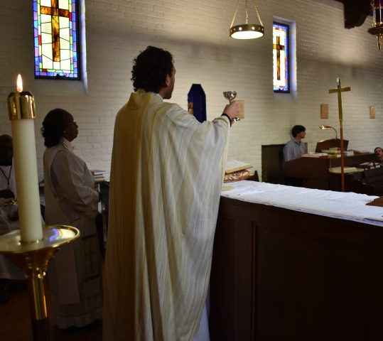 Saturday Evening Eucharist: Spiritual Communion